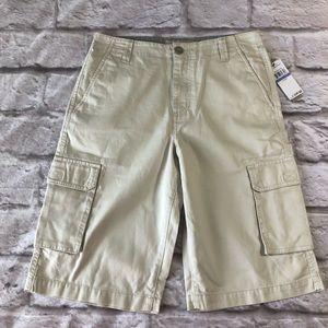 Calvin Klein Jeans Tan Cargo Shorts 18